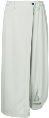 132 5. ISSEY MIYAKE Draped Trousers