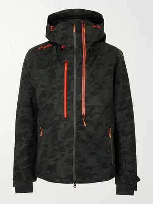 Phenix Active Camouflage-Print Hooded Ski Jacket