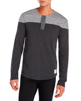 Lucky Brand Two-Tone Henley