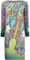 Etro abstract print shift dress - women - Silk - 40
