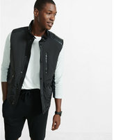 Express Minus the) leather trim puffer vest