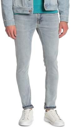 """Nudie Jeans Lin Distressed Skinny Leg Jeans - 30-34\"""" Inseam"""