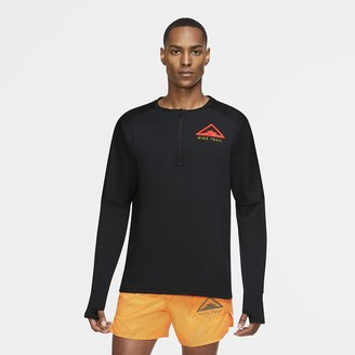 Nike Men's Long-Sleeve Trail Running Top Element