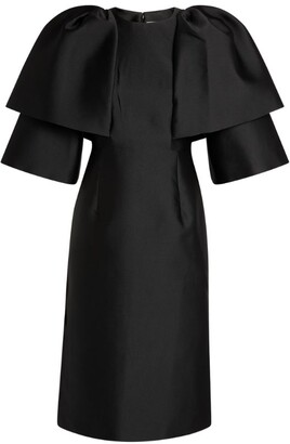 Huishan Zhang Hilda Double-Sleeved Midi Dress