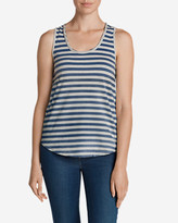 Eddie Bauer Women's Gypsum Tank Top - Stripe