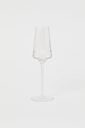 H&M Champagne Flute