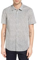 John Varvatos Men's Mayfield Slim Fit Print Sport Shirt