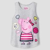 Peppa Pig Girls' Peppa the Pig Tank Top