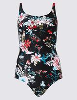 M&S Collection Secret SlimmingTM Floral Print Swimsuit