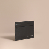 Burberry Beasts Motif Leather Card Case