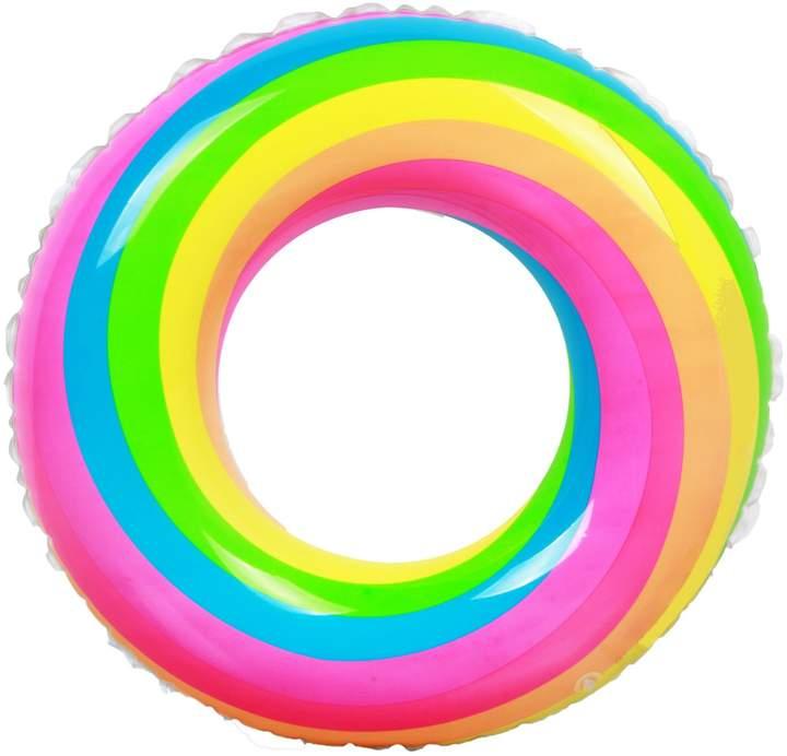 Pool' Like Omg Junior Rainbow Ring Float
