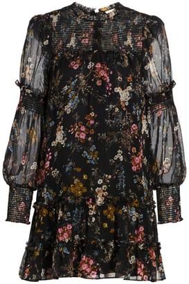 Cinq à Sept Stephanie Floral Mini Dress