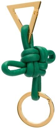 Bottega Veneta Leather Knot Keychain