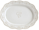Mud Pie Initial Oval Platter - C