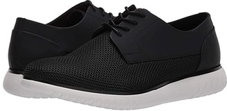 Calvin Klein Teodor Diamond (Black Air Mesh/Rubberized Leather) Men's Shoes