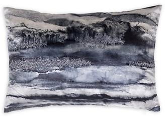 Callisto Home Dip-Dyed Velvet Lumbar Pillow