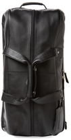 Royce Leather Luxury Travel Rolling Duffel Bag