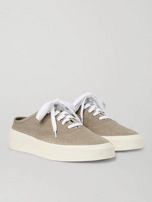 Fear Of God 101 Canvas Backless Sneakers