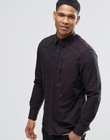 G Star G-Star Powel Shirt in Dark Bordeaux