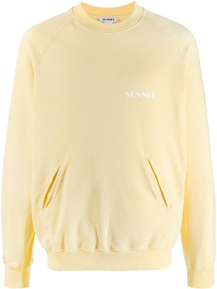 Sunnei Chest Logo Sweatshirt