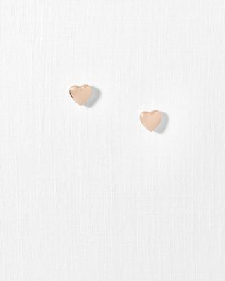 Ted Baker Heart Stud Earrings