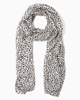 Charming charlie Snow Leopard Scarf
