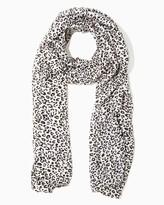 Charming charlie Snow Leopard Scarf