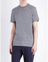 Ps By Paul Smith Embossed Logo Cotton-jersey T-shirt