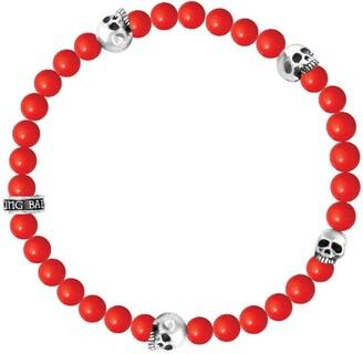 King Baby Studio Coral Bead Bracelet