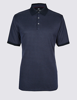 M&S Collection Modal Rich Textured Polo Shirts