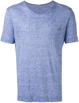 Massimo Alba pocket detail T-shirt - men - Linen/Flax - S