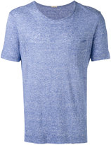 Massimo Alba pocket detail T-shirt - men - Linen/Flax - XL
