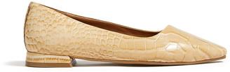 Jigsaw Anais Leather Flat Shoe