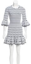 Alaia Patterned Mini Dress