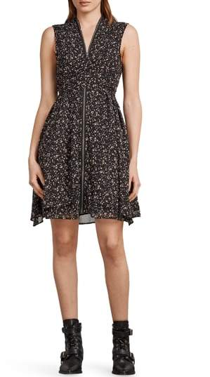 AllSaints Jayda Pepper Floral Print Dress