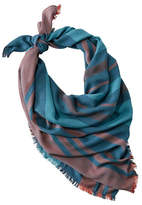 L.L. Bean Sunwashed Square Scarf, Stripe