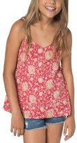 O'Neill Girl's Leona Floral Tank