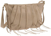 'Taylor' Braided Pleat Crossbody Bag