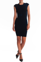 Alexander Wang Intarsia Dress Black