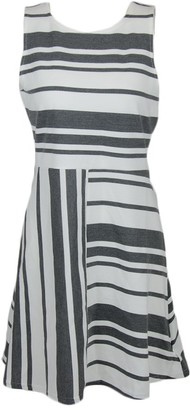 Olive + Oak Olive & Oak Women's Striped Midi Dress