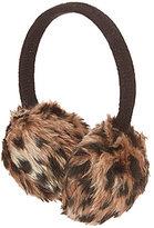 Copper Key Girls Leopard Faux-Fur Earmuffs
