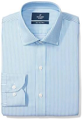 Buttoned Down Men's Slim Fit Cutaway-Collar Non-Iron Dress Shirt