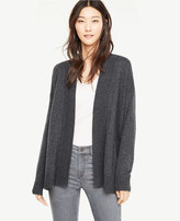 Ann Taylor Cross Back Open Cardigan