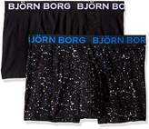 Bjorn Borg Men's 2-Pack Mineral Print Boxer Brief