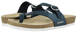 Mephisto Nalia (Light Taupe Nubuck/Platinum Star) Women's Sandals