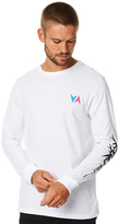 RVCA Astrodeck X Ls Mens Tee White
