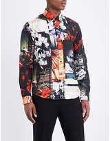 Kenzo Still Life Casual-fit Cotton Shirt