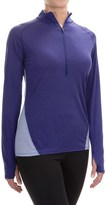 Ibex W2 Sport Zip Neck Shirt - Merino Wool, Long Sleeve (For Women)