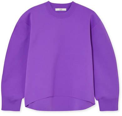Tibi Stretch-knit Sweatshirt - Purple