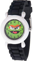 Sesame Street Boys Black Strap Watch-Wss000034